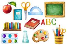 Back To School Design Elements Sticker