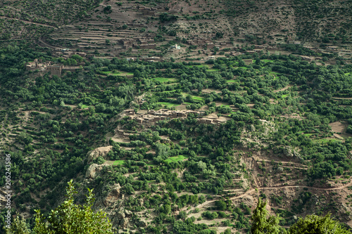 Wall mural panorama afircano marocco