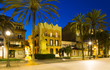 Evening view of seafront   at Badalona - 205248505