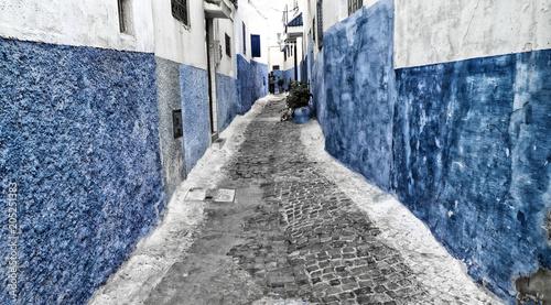 Plexiglas Marokko Gasse, Marokko