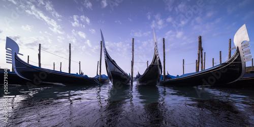 Venedig 24 Gondeln Panorama