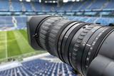 tv camera in the football - 205283928