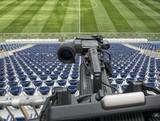 tv camera in the football - 205284526