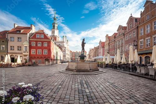 Warto zobaczyć Rynek Główny Poznania, stolica Wielkopolski