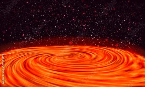 Swirl on the planet Jupiter. Wallpaper