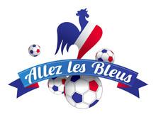 Allez Les Bleus Coq FranÇais Sticker