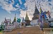 Quadro Wat Banden Blue Temple, Mae Taeng, Thailand