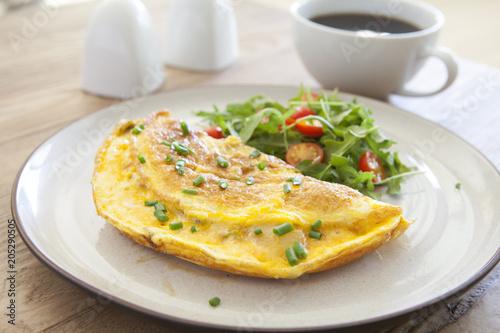 Fototapeta Cheese Omelet