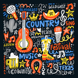 Country Music Illustration