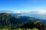 The Stairway to Heaven, the Haiku trail, Oahu, Hawaii