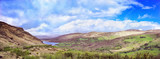 Beautiful panoramic landscape in Kenmare