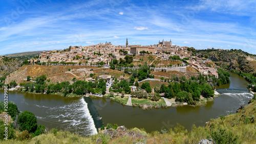 Wall mural panorama of Toledo, Spain