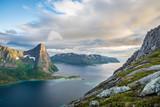 Selfjorden, Insel Senja, Norwegen - 205341525