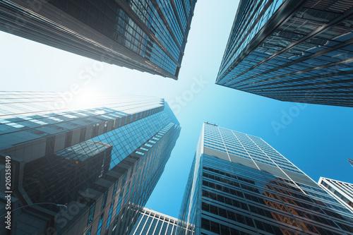 Modern buildings in New-York © Beboy