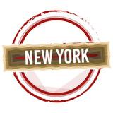 New York, Stamp, Symbol