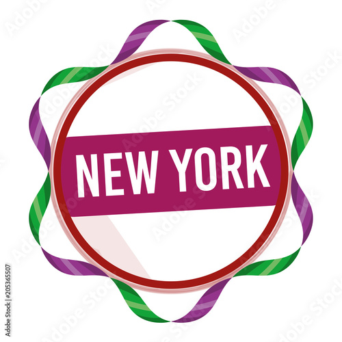 New York, Stamp, Symbol