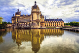 Beautiful  Castles of France - royal Chateau de Chantilly - 205366142