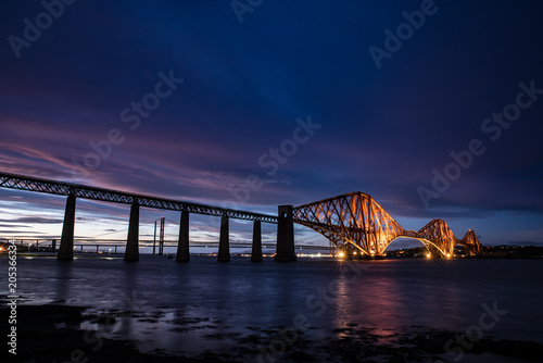 Fridge magnet Queensferry forth bridge