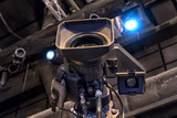 tv camera in a concert hall - 205371736