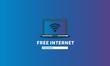 Free Internet Sticker Sign in Flat Modern Style Design