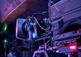 tv camera in a concert hall - 205372534