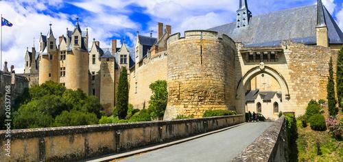 Aluminium Freesurf Medieval castles of Loire valley - impressive Montreuil-Bellay. France