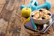 diet food concept, fitness food