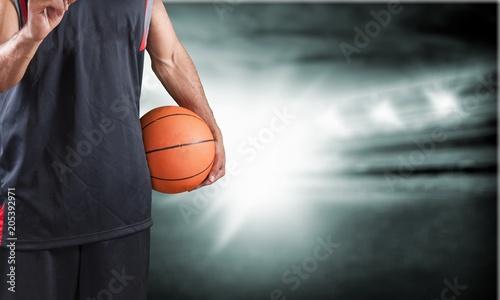 Plexiglas Basketbal Basketball.