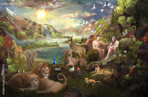 Eden garden Bible © vukkostic