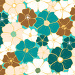 Seamless floral pattern - 205412536