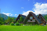 Shirakawa-Go Old village, Gifu, Japan - 205417147