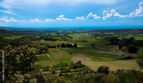 Plexiglas Blauw Blick in die Provence