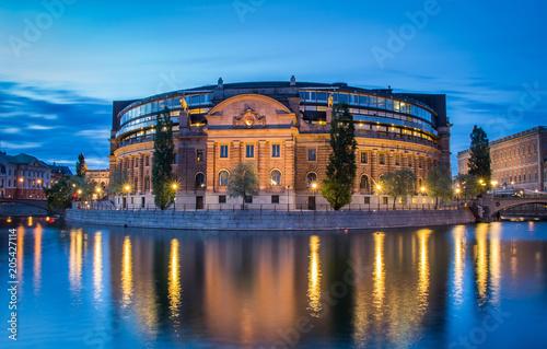 Fotobehang Stockholm Sweden