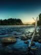 Quadro Río Azul
