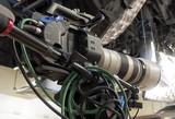 tv camera in a studio - 205446524