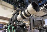 tv camera in a studio - 205446580