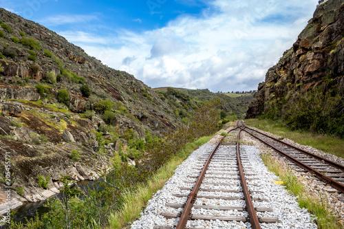 Plexiglas Spoorlijn Carris