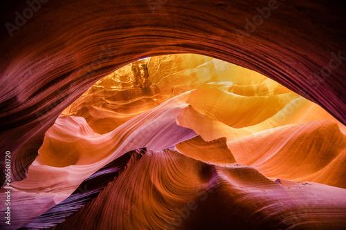 Fotobehang Bruin Lower Antelope Canyon