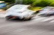 Abstract motion blur effect. Cars on the road  - 205515312