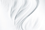 Abstract background with smooth white waves. - 205515749