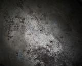 Background texture of blackened burnt metal