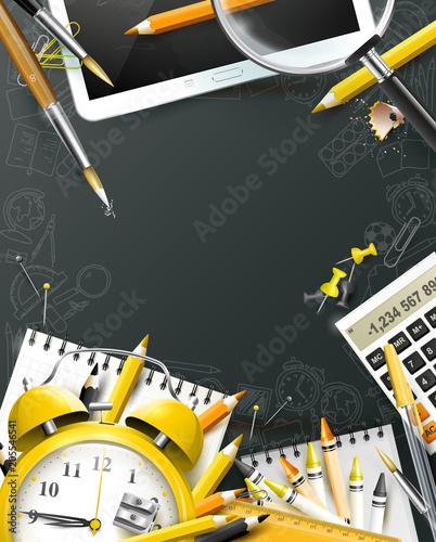Modern design school template