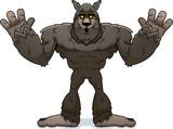 Cartoon Werewolf Surrender