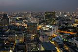 Top view of Bangkok on sunset - 205573515