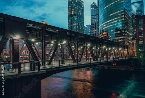 Aluminium Chicago Lake Street Bridge