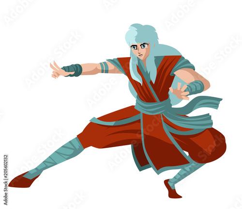 strong martial artist manga anime character - 205602132