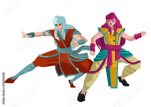 strong martial artist manga anime characters - 205602596