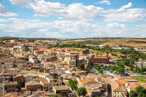 View from above of Toledo