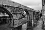 Coimbra, Portugal : Arches of the Aqueduct of Garden-San Sebastian near the University of Coimbra