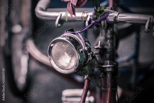 In de dag Fiets vintage bicycle headlight